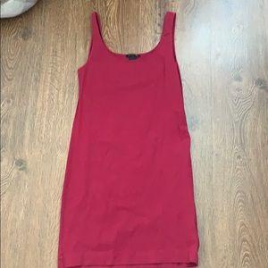 Basic sleeveless cotton dress